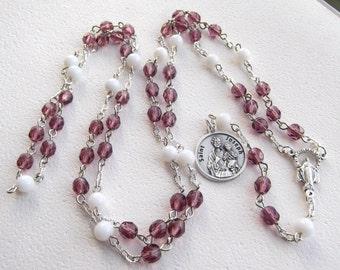 Chaplet of Saint Joseph Handmade Rosary