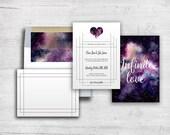 Galaxy Custom Wedding Invitati...