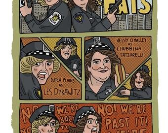 Dyke and Fats (SNL) - A4 Art Print