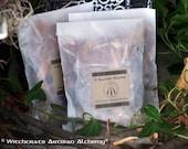 "NINE SACRED WOODS ""Pocket Packet""™ ""Old European Witchcraft""™ Blend - Alder Apple Ash Birch Cedar Hawthorn Oak Rowan Willow, English Oak Oil"