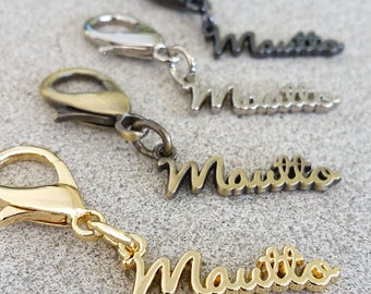 Mautto Logo Charms - Accessory for Handbags, Keychains, Straps & more - Choose Your Finish