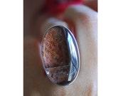 SOLD Crimson Sand Ring for Rissaface