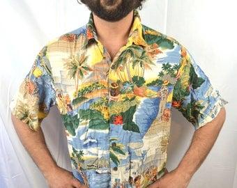 Vintage Reyn Spooner Hawaiian Button Up Shirt