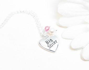 Big Sister Necklace // Big Sister Gift // Sister Jewelry // Sister Necklace // Big Sister Jewelry
