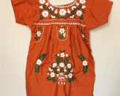 Toddler Mexican Dress- 4T / 5T