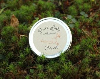 All Natural body Salve- Organic Body lotion- Pure love body cream
