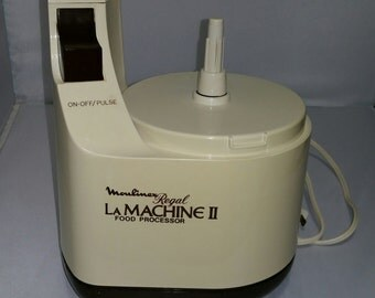 Vintage Moulinex Regal La Machine II LM2 Food Processor Replacement Part Motor Base Only