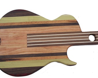 Small Gibson Les Paul inspired Guitar Cutting Board