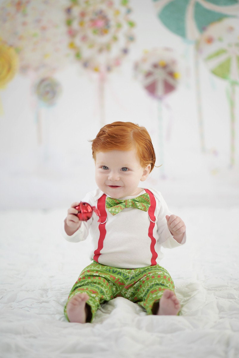 Baby Boy Christmas Outfit. Ugly Christmas By CuddleSleepDream