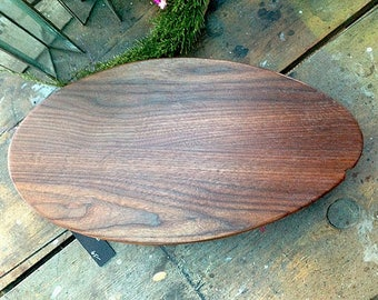 Black Walnut Centerpiece Personalized Cutting Board/ Cheese Server or Stand