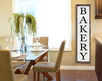 Bakery Sign| KITCHEN Sign | dining room wall decor| Kitchen decor | kitchen signs |  wall  sign | Framed Sign| Christmas Gift