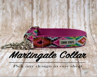 Martingale Dog Collar, Any Pattern In Our Shop