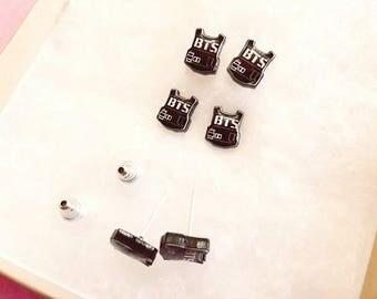 Kpop handmade BTS Earrings