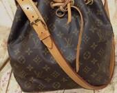 Reserved. Vintage Louis Vuitton monogram petit noe shoulder bag. Good Condition. Authentic.