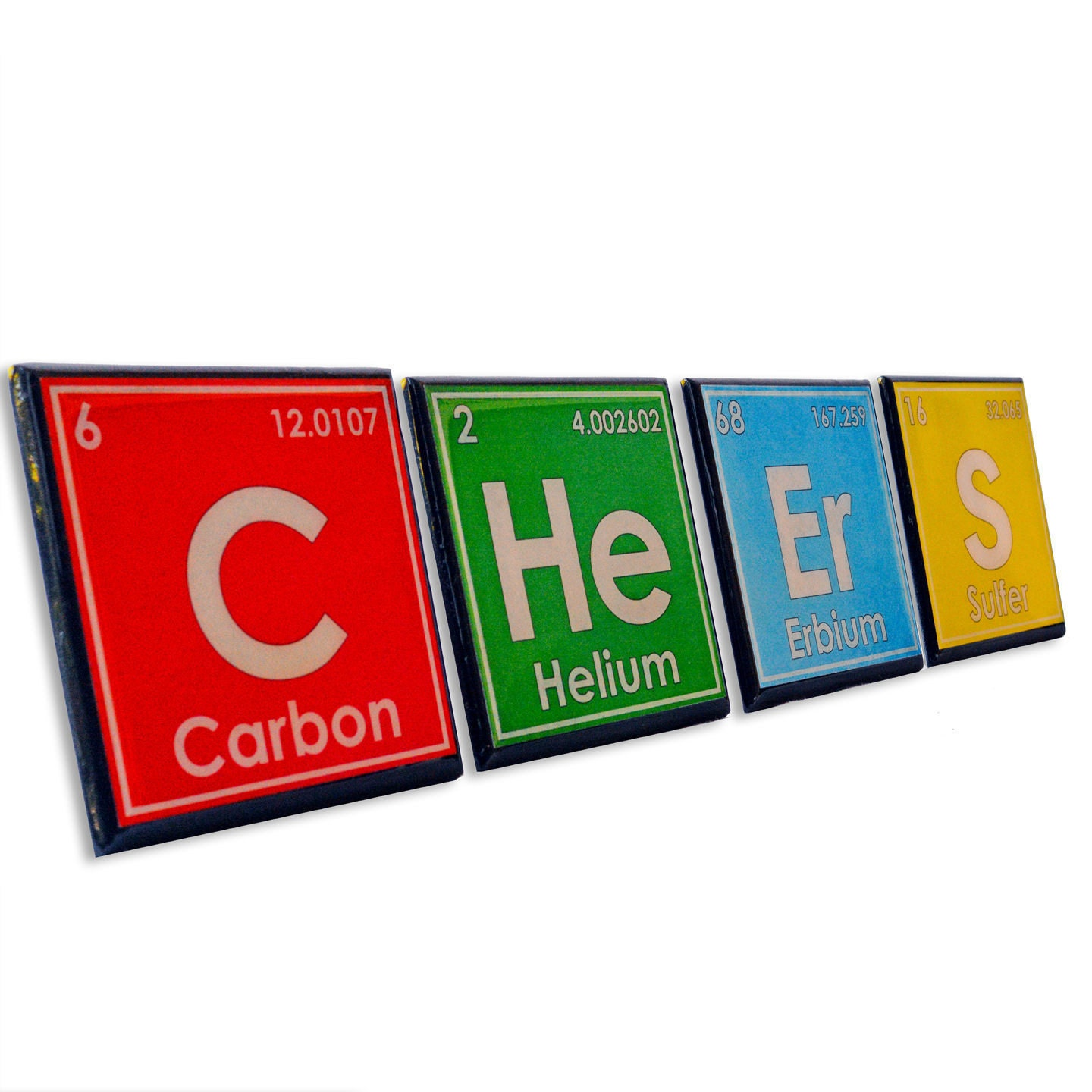 Periodic table drink coaster set science art unique chemistry zoom gamestrikefo Image collections