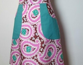 Bright Pink cotton skirt SALE *Ready to ship*