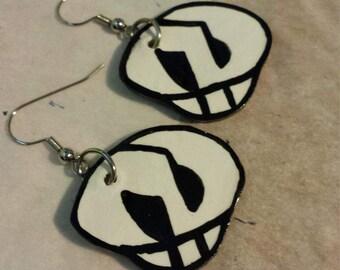Team Skull Earrings