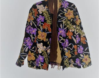 Sale Plus size Embroidered beaded Jacket