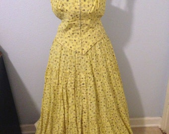 Vintage Skirt and Top Destert West by Sherry Holt