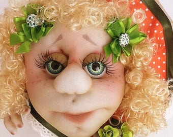 Soft Sculpture Lucky Doll  no.12