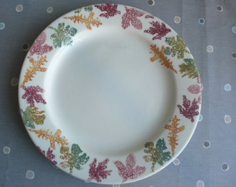SALE Rare Royal Winton spongewear large platter leaf design England