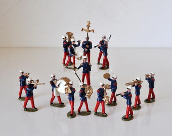 Vintage Lead Toy Soliders in Original Boxes Dorset Armies of the World French Foreign Legion Band 2 Boxes