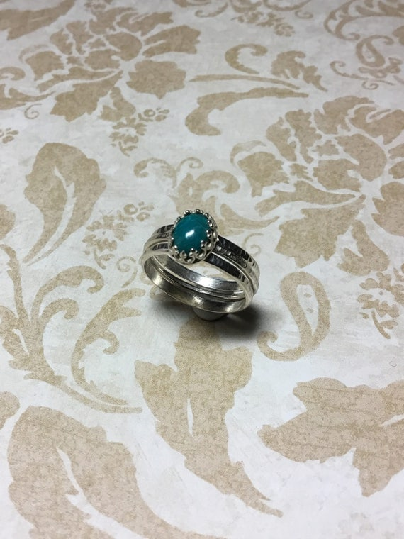 Eilat Gemstone Ring, Atrisan Jewelry, Sterling Silver Jewelry, Gemstone Jewelry, Unique Jewelry