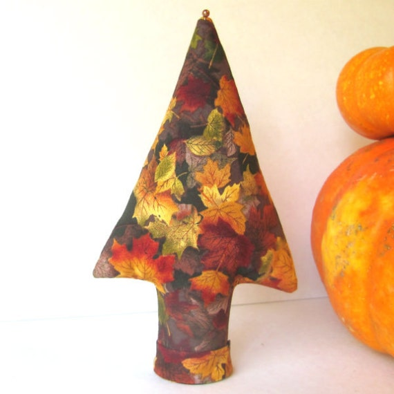 Fall Leaves MEDIUM TREE-Stand Place Card Holder Centerpiece Ready to Ship