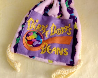 Bertie Bott's Every Flavour Beans Cinch Bag/Backpack (Harry Potter)