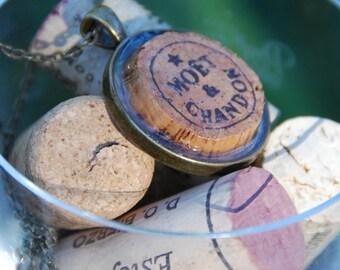 Champagne Cork Necklace Moet & Chandon
