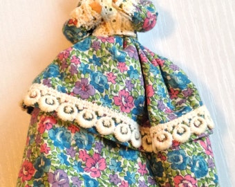 Adorable Little Cloth Doll