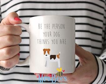 Personalized Dog Mug, Custom Pet Portrait, Dog Owner Quote Gift, Funny Pet Gift, Best Coworker, Dog Owner Gift Ideas, Fur Mama, Dog Mom AF