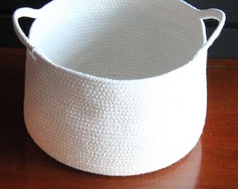Clothesline Rope Basket