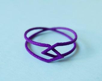 Interlocking Triangles Ring