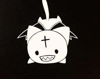Chomusuke Konosuba Decal | Sticker | Vinyl | Car, Wall, Window or Laptop Decoration | Cute!