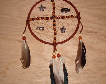 5 inch dreacatcher/medicine wheel