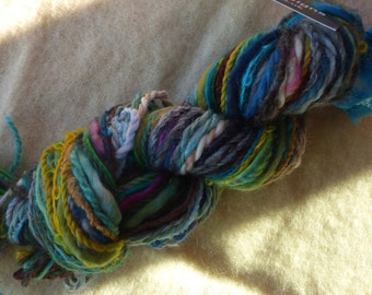 Hope Jacare - Creative textiles Fab felting hand dyed and hand spun wool yarns - 69g - FFY23