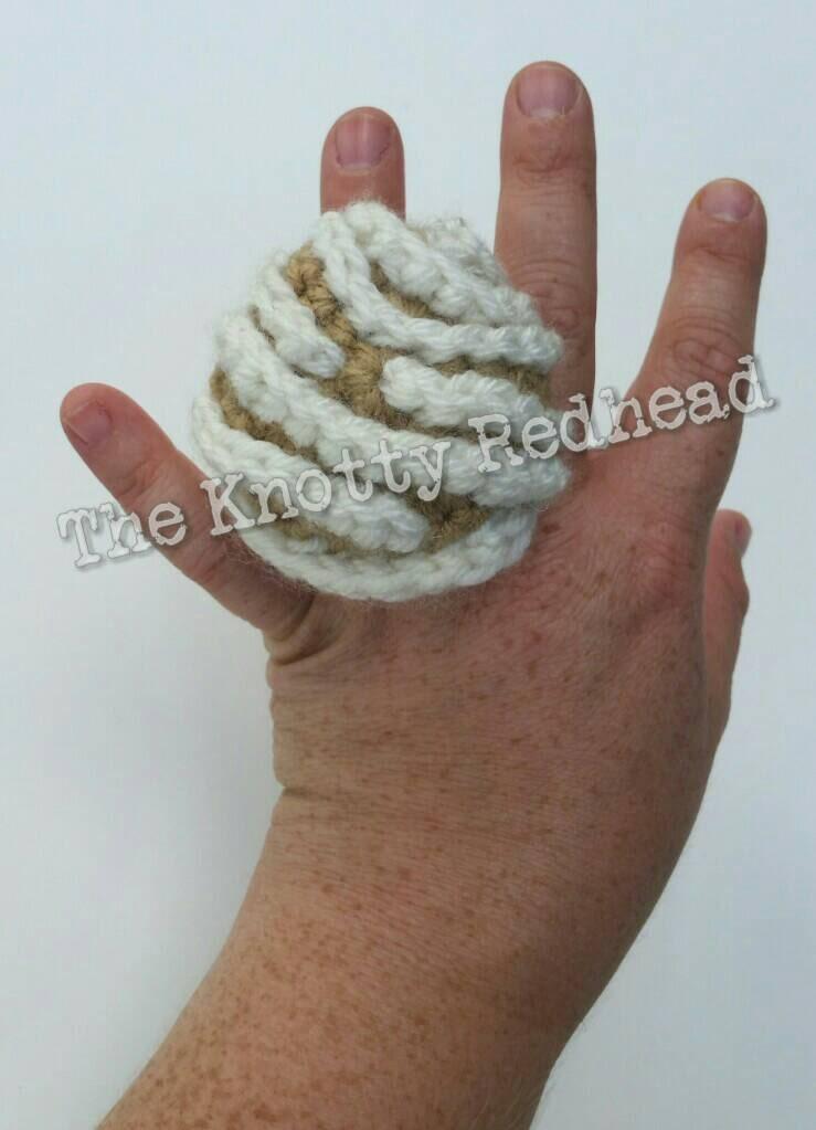 Crochet Amigurumi Ring : Crochet Amigurumi Pan Dulce Ring