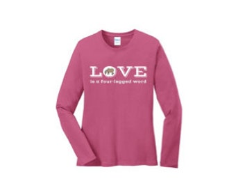 Shipping Included - Ladies Size Med. Long Sleeve Tee Shirt