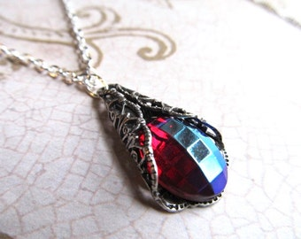 Game of Thrones Jewelry Art Nouveau Necklace Art Deco Necklace Dragons Breath Necklace Gothic Necklace Steampunk Necklace- Dragon Scales