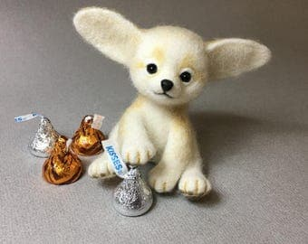 Fennec Fox, White Fox, Costum Order Only by Marina Lubomirsky