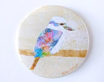Kookaburra - Badge with pin-back