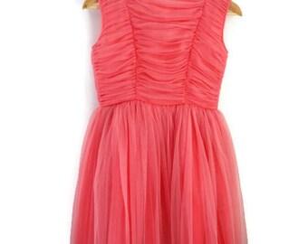 Girls Dress, Vintage Party Dress, Vintage Prom Dress, Girls Party Dress, Girls Vintage Dress
