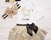 Flower Girl Rehearal Outfit-Petal Patrol-Flower Girl Outfit / Rehearsal Clothing / Bridal Crew / Rehearsal Dinner / Flower Girl Gift