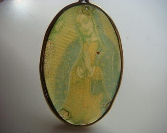 Unique Pendant of The Blessed Virgin