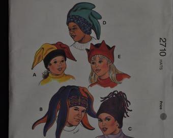 Fun Fleece Hats - Adult and Children sizes - 8 styles - Kwik sew 2710