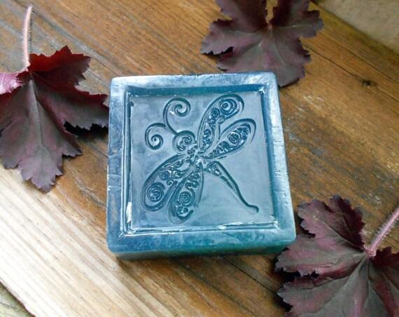 Soap for Acne, Handmade, Natural Olive Oil Soap, Patchouli, Eucalyptus, Sandalwood, 4 ounce bar, Bath and Beauty