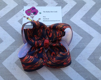 Flame Boutique Hair Bow
