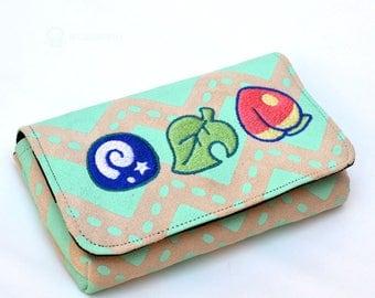 Animal Crossing pastel 3DS case