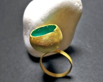 Chunky Rings, Big Rings, Large Rings Women, Cocktail Rings for Women, Fashion Rings for Women, Big Rings for Women, Cocktail Ring, Nest Ring